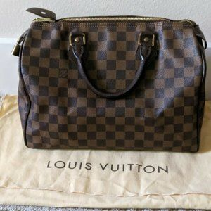 Authentic Louis Vuitton Bag Speedy Bag